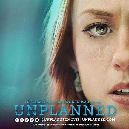 Unplanned Official Trailer Released