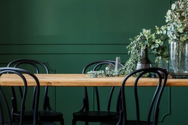 dining-room-wall-colors-emerald-green